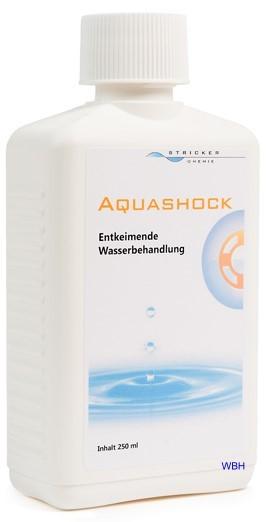Favorit Aquashock entkeimt das Wasser wenn das Wasserbett riecht oder stinkt. RH88