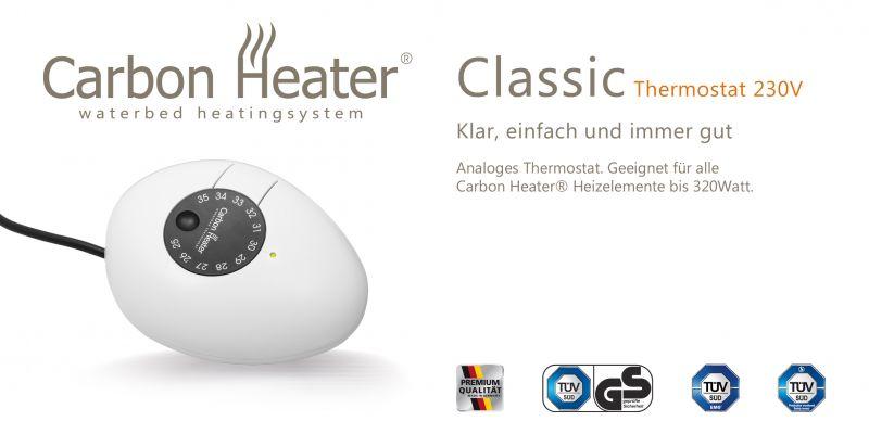 Ersatz Thermostat Ersatz Regler TBD Carbon Heater