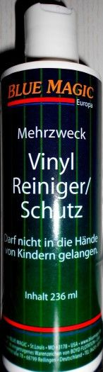 Wasserbetten Vinylreiniger Blue Magic (236ml)
