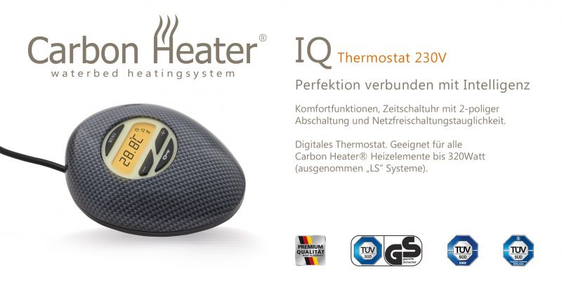 Ersatz Regler, Thermostat TBD Carbon Heater IQ Digital