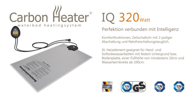 TBD Carbon Heater 320 W IQ Digital