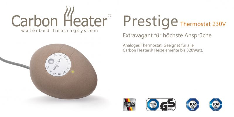 TBD Carbon Prestige Regler Thermostat
