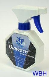 Diawash Vorwaschspray für Wasserbett Auflagen