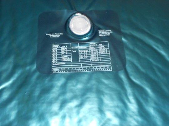 Wassermatratze 200x200 cm Uno