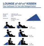 Keilkissen-Lounge Kissen